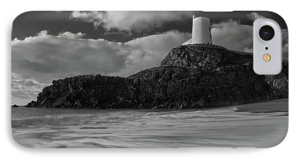 IPhone Case featuring the photograph Niwbwrch Lighthouse by Beverly Cash