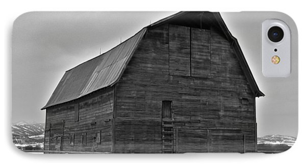 IPhone Case featuring the photograph Noble Barn by Eric Tressler