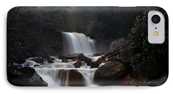 IPhone Case featuring the photograph North Forks Waterfalls by Dan Friend