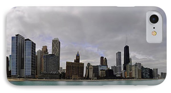 IPhone Case featuring the photograph North Of Navy Pier From The Series Chicago Skyline by Verana Stark