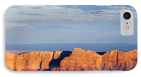 North Rim At Sunset Phone Case by Dave Bowman