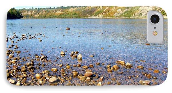 IPhone Case featuring the photograph North Saskatchewan River by Jim Sauchyn