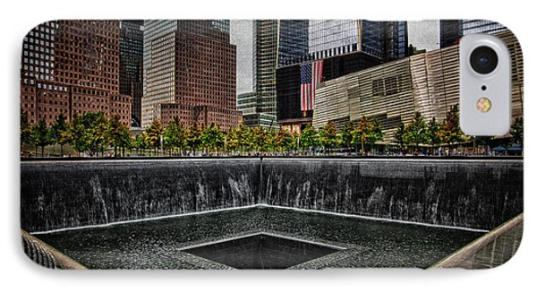 North Tower Memorial Phone Case by Chris Lord