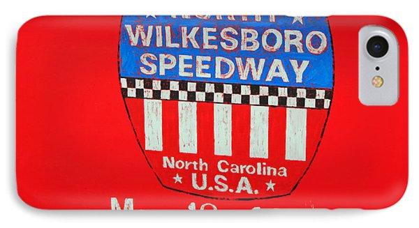 North Wilkesboro Speedway Phone Case by Suzanne Gaff