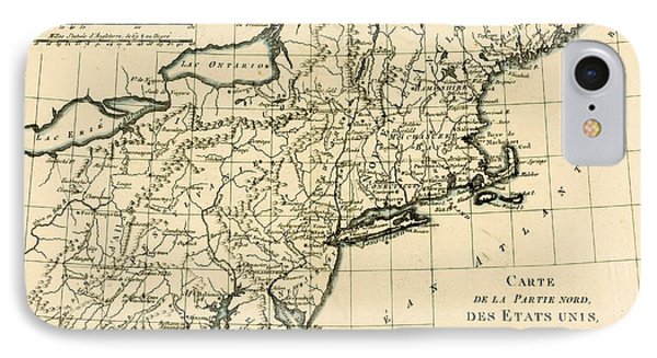 Northeast Coast Of America Phone Case by Guillaume Raynal