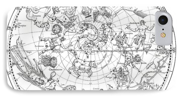 Northern Celestial Map Phone Case by Science, Industry & Business Librarynew York Public Library