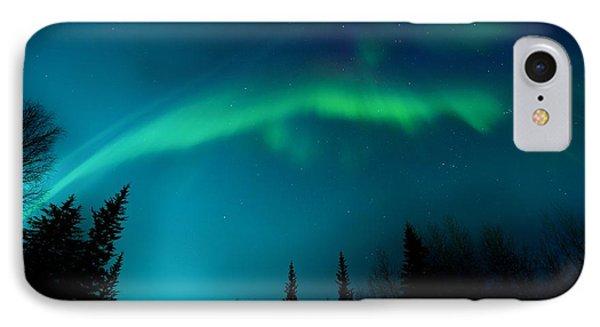 Northern Magic Phone Case by Priska Wettstein