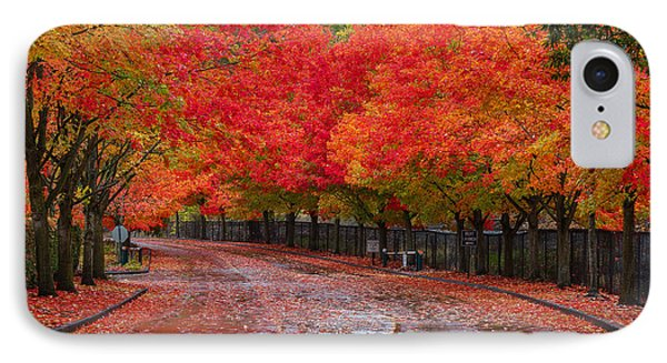Northwest Autumn IPhone Case by Ken Stanback