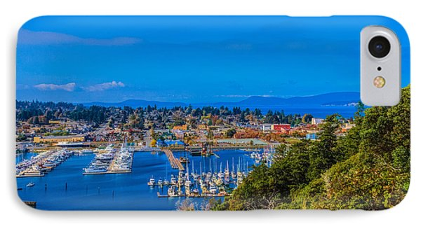 Northwest Harbor IPhone Case by Ken Stanback