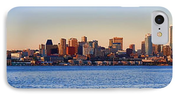 Northwest Jewel - Seattle Skyline Cityscape IPhone Case by James Heckt