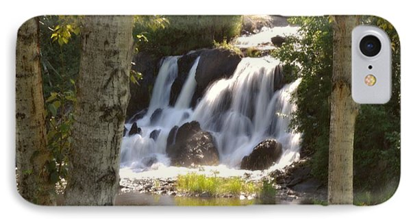 Northwoods Falls Phone Case by Marty Koch