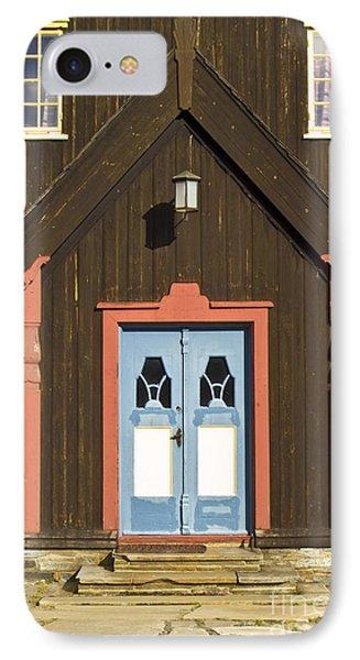 Norwegian Wooden Facade Phone Case by Heiko Koehrer-Wagner