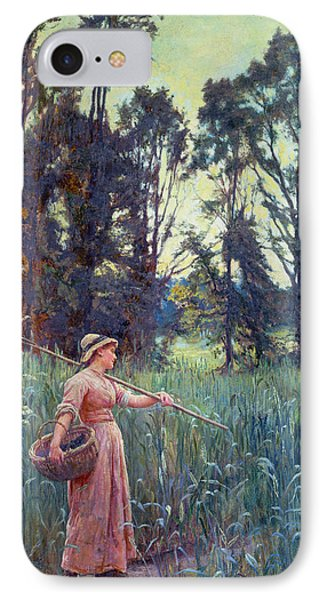 Not Far To Go IPhone Case by Frederick Morgan