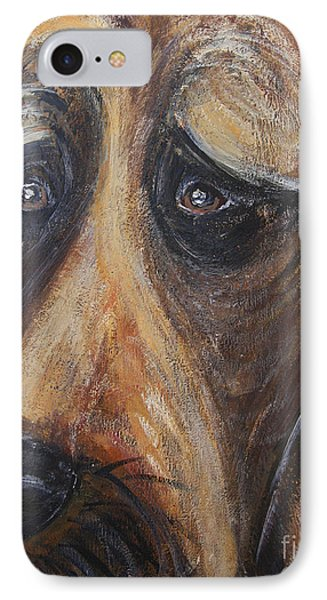Nothin But A Hunddog IPhone Case by Ania M Milo