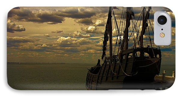Notorious The Pirate Ship IPhone Case by Blair Stuart