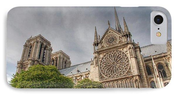 IPhone Case featuring the photograph Notre Dame De Paris by Jennifer Ancker