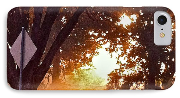 IPhone Case featuring the photograph November Sunrise by Bill Owen
