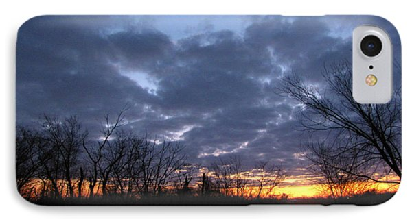 November Sunrise IPhone Case by Cedric Hampton