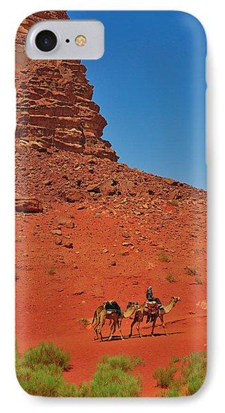 Nubian Camel Rider Phone Case by Tony Beck