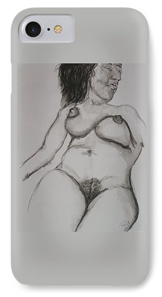 Nude At Rest IPhone Case by Rand Swift