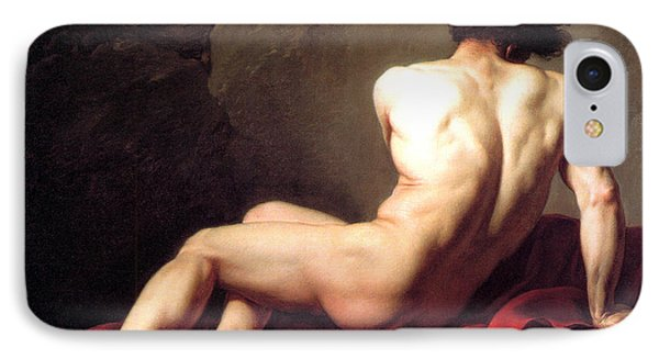 Nude Male Phone Case by Sumit Mehndiratta
