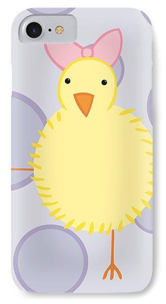 Nursery Art Baby Bird IPhone Case by Christy Beckwith