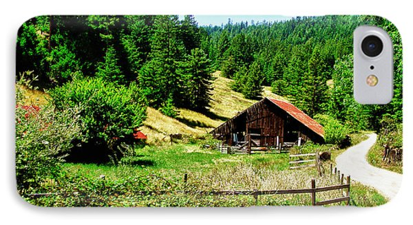 Nw California Country Road Phone Case by Frank Feliciano