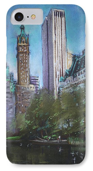 Nyc Central Park 2 Phone Case by Ylli Haruni