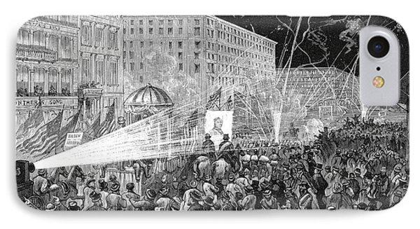 Nyc: Democrat Parade, 1876 Phone Case by Granger