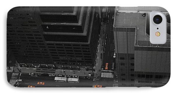 Nyc From The Top 1 IPhone Case by Naxart Studio