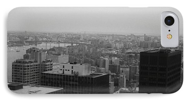 Nyc From The Top 2 IPhone Case by Naxart Studio