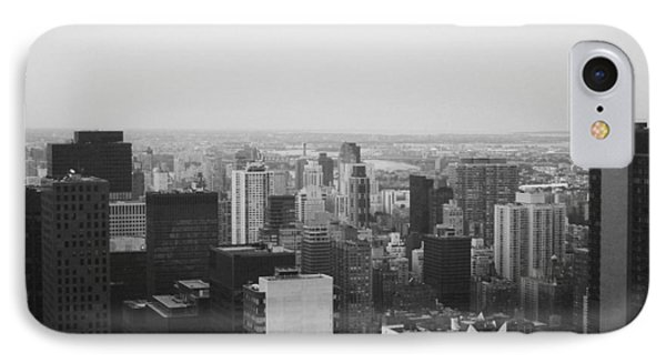 Chrysler Building iPhone 7 Case - Nyc From The Top 3 by Naxart Studio