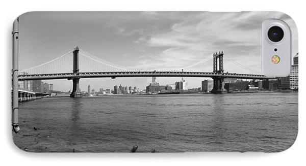 Nyc Manhattan Bridge Phone Case by Mike McGlothlen