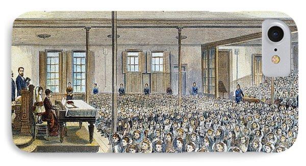 Nyc School Room, 1881 Phone Case by Granger