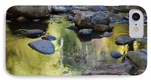 IPhone Case featuring the photograph Oak Creek Reflection by Tam Ryan