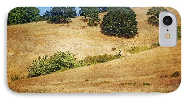 Oaks On Grassy Hill Phone Case by Bonnie Bruno