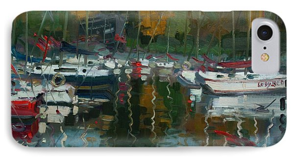 Oakville Harbour On IPhone Case by Ylli Haruni