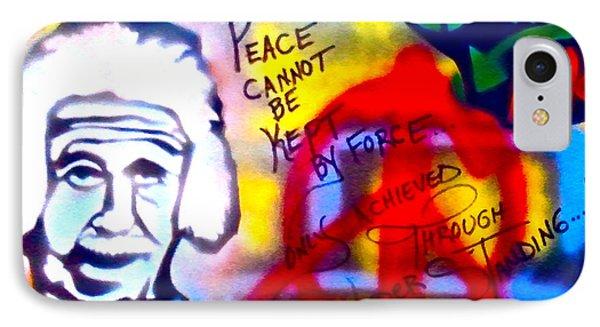 Occupy Einstein Phone Case by Tony B Conscious