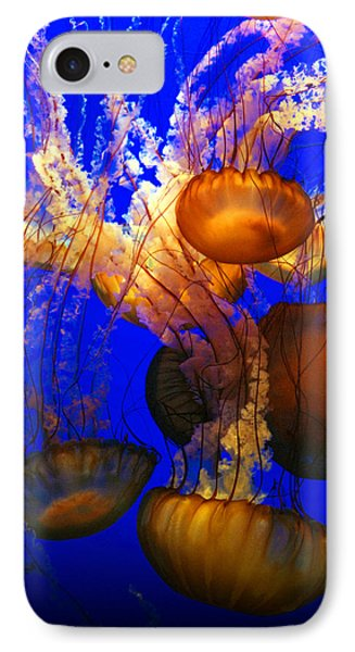 Ocean Jellyfish Phone Case by Anthony Citro