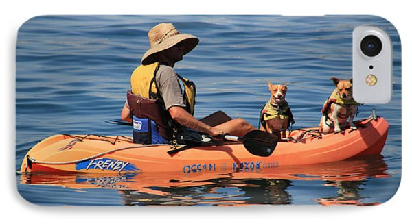 Ocean Kayaking Phone Case by Heidi Smith
