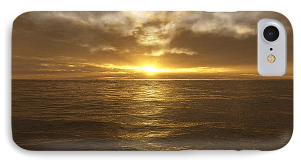 Ocean Sunset IPhone Case by Mark Greenberg
