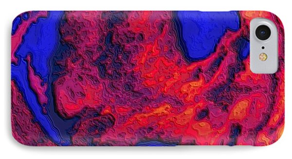 Oceans Of Fire IPhone Case by Alec Drake