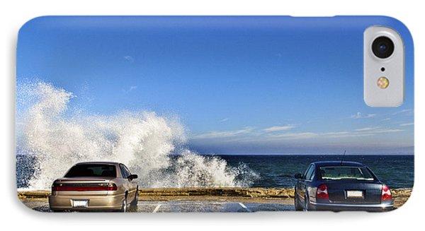 Oceanside Parking Phone Case by Eddy Joaquim