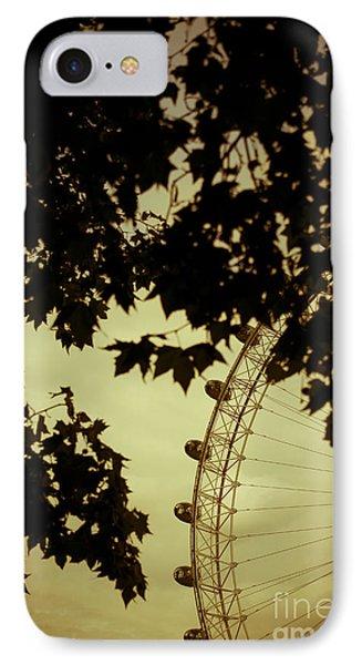 October Mist IPhone Case by Jan Bickerton