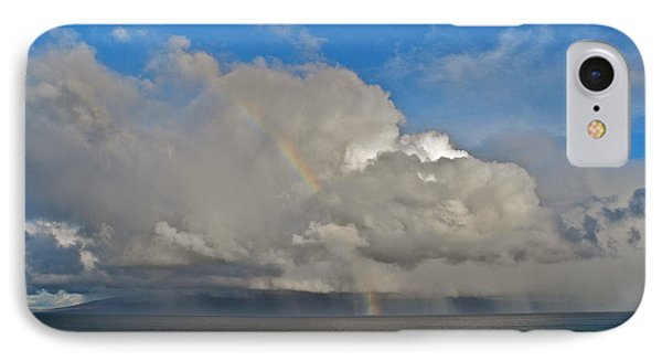 IPhone Case featuring the photograph October Rainbow In Maui by Kirsten Giving