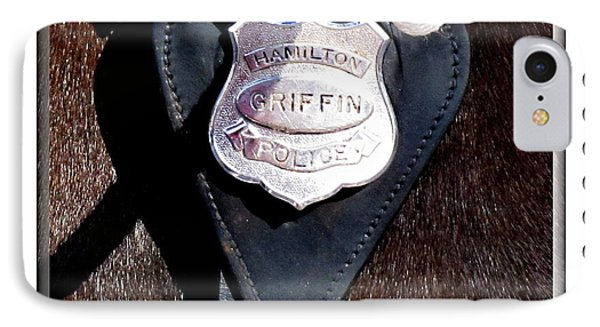 Officer Griffin Phone Case by Danielle  Parent