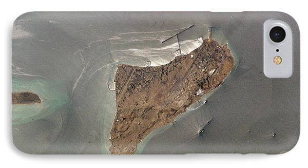 Oil Port, Iran Phone Case by NASA / Science Source