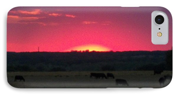 Okie Sunset IPhone Case by Adam Cornelison
