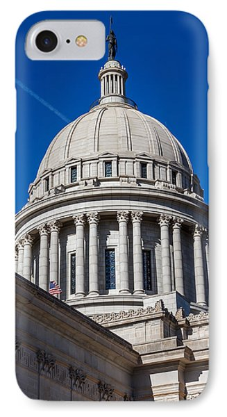 Oklahoma State Capitol Dome IPhone Case by Doug Long