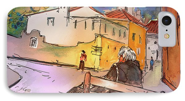 Old And Lonely In Portugal 07 Phone Case by Miki De Goodaboom